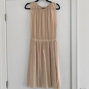 Wilfred Aritzia 100% Silk Pink Dress - Size 4 / S
